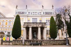 The Villa Stuck Jugendstil Museum. Museum and historic house devoted to the life and work of the painter Franz Stuck in Munich, Germany stock photo