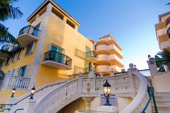 Villa style condo Royalty Free Stock Photography