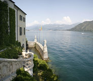 Villa sul lago Royalty Free Stock Photo