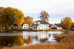 Villa in Swden Lizenzfreies Stockfoto