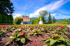 Villa taranto botanical garden - Verbania - Lake Maggiore - Pied Royalty Free Stock Photo