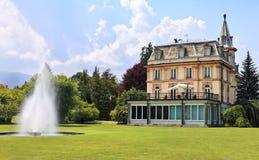 Villa Taranto, Verbania, Verbano Cusio Ossola, Piedmont Stock Photography