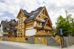 Villa Tatiana at the street of Makuszynski Royalty Free Stock Images