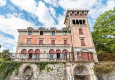 Villa Toeplitz a Varese, Italia Fotografia Stock Libera da Diritti