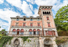 Villa Toeplitz in Varese, Italy Royalty Free Stock Photo