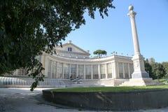 Villa Torlonia i Rome Arkivbilder