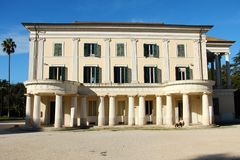 Villa Torlonia in Rome Stock Photo