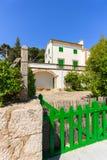 Villa traditionnelle de vacances sur l'île de Majorca Photo libre de droits