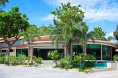 Villa in tropics Stock Images