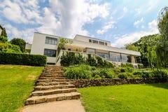 Villa Tugendhat à Brno, République Tchèque Images stock
