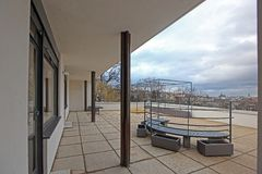 Villa Tugendhat Photographie stock