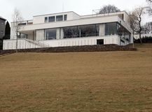Villa Tugendhat Royalty Free Stock Images