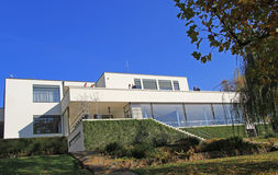 Villa Tugendhat, the historical building in Brno Stock Photos