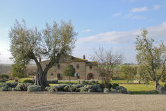 Villa in Tuscany Stock Photos