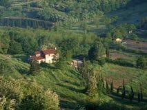 Villa in Tuscany stock image