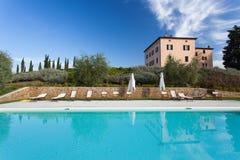 Villa in Tuscany Royalty Free Stock Photo