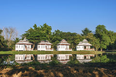 The villa under the blue sky Stock Photography
