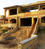 Villa under construction Royalty Free Stock Images