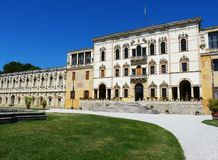 Villa vénitienne de Contarini de villa près de Padoue images libres de droits