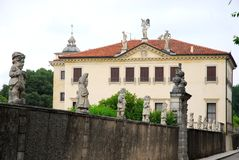 Villa Valmarana or dwarves in Monti Berici near Vicenza Italy Stock Photo