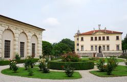 Villa Valmarana of dwergen in Monti Berici dichtbij Vicenza Italy Royalty-vrije Stock Afbeelding