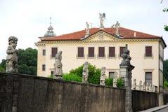 Villa Valmarana of dwergen in Monti Berici dichtbij Vicenza Italy Stock Foto