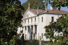 Villa Valmarana Scagnolari Zen by Andrea Palladio Stock Photo