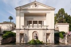 Villa van Pius IV royalty-vrije stock afbeeldingen