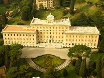 Villa Vatikaan Royalty-vrije Stock Foto's