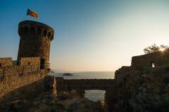Villa Vella fortress Stock Image