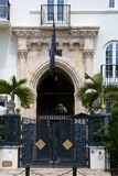 Villa Versace Stock Images