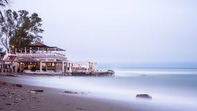 Villa vicino al mare Fotografie Stock