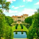 Villa Vizcaya Royaltyfri Fotografi