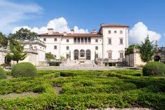 Villa Vizcaya i Miami, Florida Arkivbild
