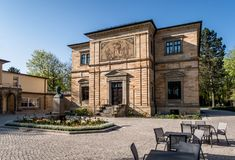 Villa Wahnfried Richard Wagner museum Bayreuth Royalty Free Stock Images