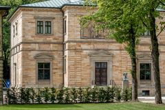 Villa Wahnfried Bayreuth - Richard Wagner Museum Image stock
