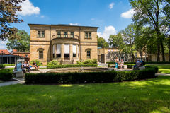 Villa Wahnfried Bayreuth 2016 - Richard Wagner Museum Royalty-vrije Stock Foto