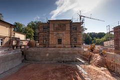 Villa Wahnfried Bayreuth - Richard Wagner Museum Stock Photos