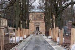 Villa Wahnfried Bayreuth - Richard Wagner Museum Royalty Free Stock Photo