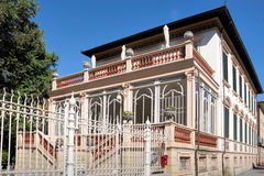 Villa within the walls of Lucca Royalty Free Stock Photos