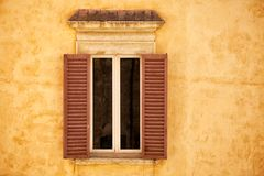 Villa Window Stock Image