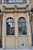 Villa window. Welcome channel in villa, shanghai Royalty Free Stock Photography