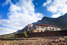 Villa Winter near Cofete, Fuerteventura Royalty Free Stock Images