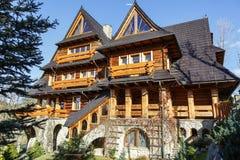 Villa Wojciechowo in Zakopane, Poland Royalty Free Stock Photography