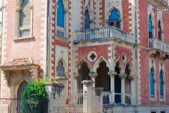 Villa Zerbi in Reggio Calabria Royalty Free Stock Image
