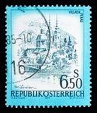 Villach-Perau, Karnten, schönes Österreich-serie, circa 1977 Lizenzfreie Stockfotografie