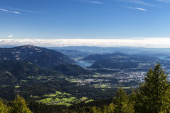 Villach und Ossiacher See Royalty Free Stock Image