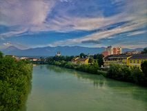 Villach view Royalty Free Stock Image