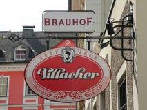 Villacher-Schild stockfotografie