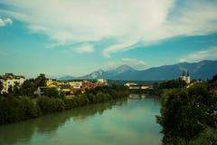 Villaco, Austria Immagine Stock